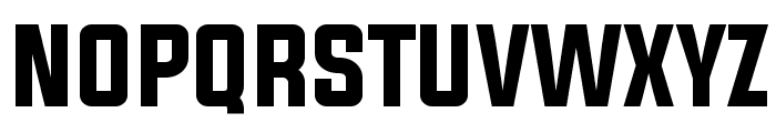 Evogria Font UPPERCASE