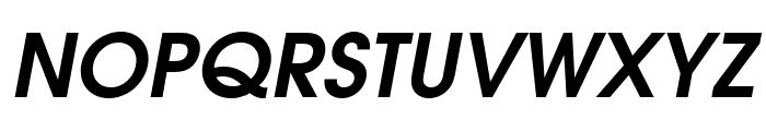 Evolventa Bold Oblique Font UPPERCASE