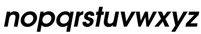 Evolventa Bold Oblique Font LOWERCASE