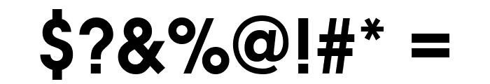 Evolventa Bold Font OTHER CHARS