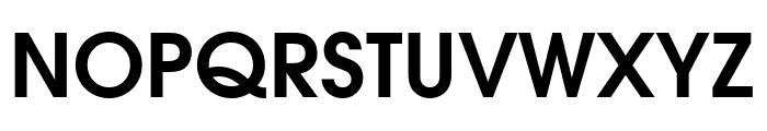 Evolventa Bold Font UPPERCASE