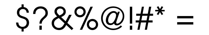 Evolventa Font OTHER CHARS