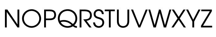 Evolventa Font UPPERCASE