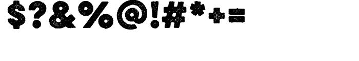 Eveleth Slant Bold Font OTHER CHARS