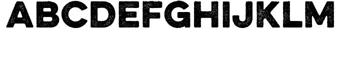 Eveleth Slant Bold Font LOWERCASE