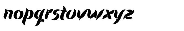 Evergreen Dawn Font LOWERCASE