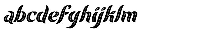 Evergreen Dusk Font LOWERCASE