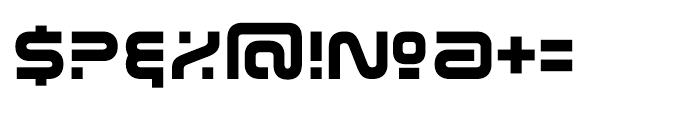 Evolver Regular Font OTHER CHARS