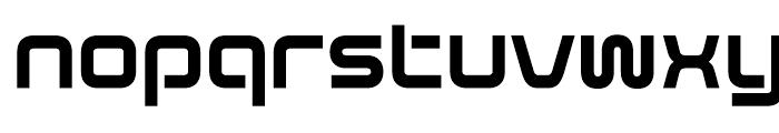 Evolver Regular Font LOWERCASE