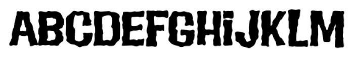 Evil Intentions PB Regular Font UPPERCASE