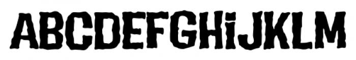 Evil Intentions PB Regular Font LOWERCASE