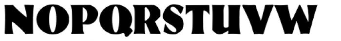 Eva Antiqua Black Font UPPERCASE