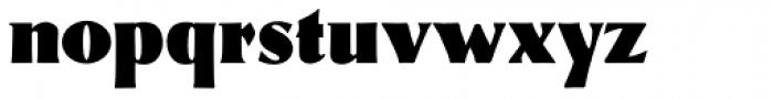 Eva Antiqua Black Font LOWERCASE