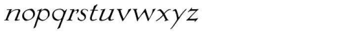 Eva Antiqua Light Italic Font LOWERCASE