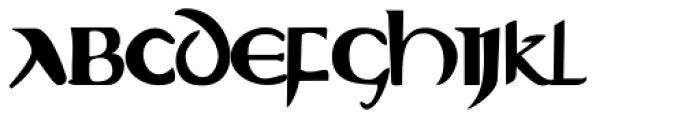 Evangeliaire Uncial Font UPPERCASE