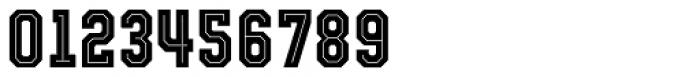 Evanston Tavern 1826 Bold Inline Font OTHER CHARS