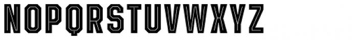 Evanston Tavern 1826 Bold Inline Font UPPERCASE