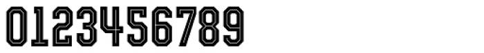 Evanston Tavern 1826 Medium Inline Font OTHER CHARS