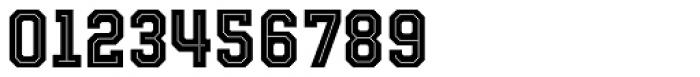 Evanston Tavern 1846 Bold Inline Font OTHER CHARS