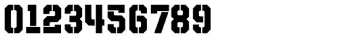 Evanston Tavern 1846 Bold Stencil Font OTHER CHARS