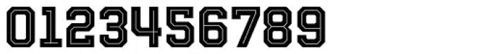Evanston Tavern 1858 Bold Inline Font OTHER CHARS
