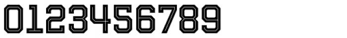 Evanston Tavern 1858 Medium Inline Font OTHER CHARS