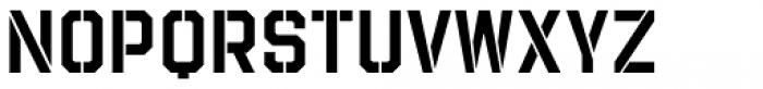 Evanston Tavern 1858 Medium Stencil Font UPPERCASE