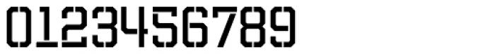 Evanston Tavern 1858 Regular Stencil Font OTHER CHARS