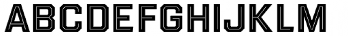 Evanston Tavern 1893 Bold Inline Font UPPERCASE