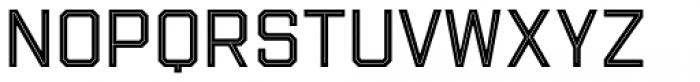 Evanston Tavern 1893 Regular Inline Font LOWERCASE