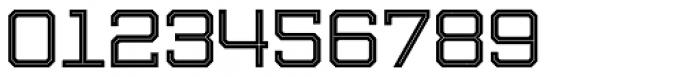 Evanston Tavern 1919 Regular Inline Font OTHER CHARS