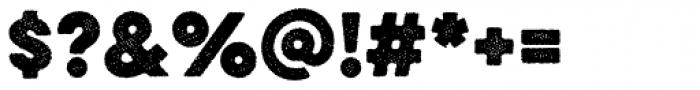 Eveleth Dot Bold Font OTHER CHARS