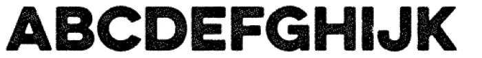 Eveleth Dot Bold Font UPPERCASE