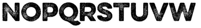 Eveleth Dot Regular Font UPPERCASE