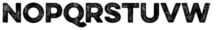 Eveleth Regular Font UPPERCASE