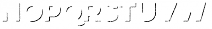 Eveleth Shadow Font UPPERCASE