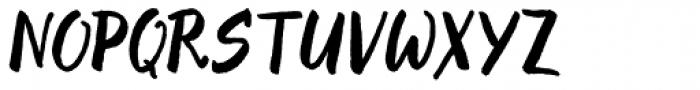Evenfall Upright Italic Font UPPERCASE