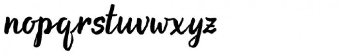 Evenfall Upright Italic Font LOWERCASE