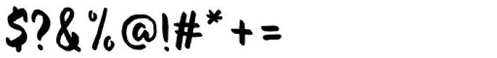 Evenfall Upright Regular Font OTHER CHARS