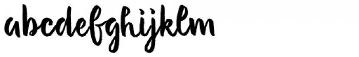 Evenfall Upright Regular Font LOWERCASE