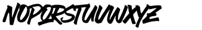 Ever Looser Regular Untextured Font UPPERCASE
