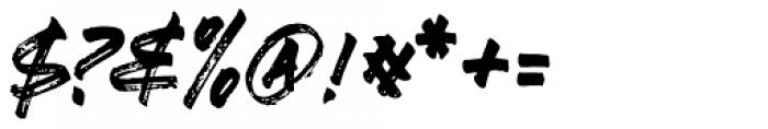 Ever Looser Regular Font OTHER CHARS