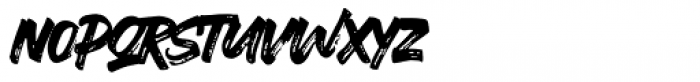 Ever Looser Regular Font LOWERCASE