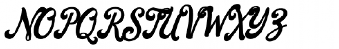 Everland Script Font UPPERCASE