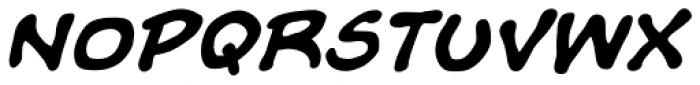 Evil Doings Bold Italic Font UPPERCASE