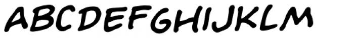 Evil Doings Italic Font UPPERCASE
