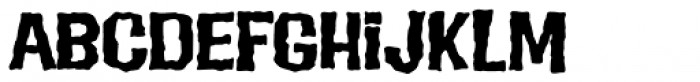 Evil Intentions PB Font LOWERCASE