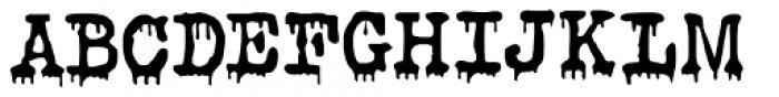 Evil Laughter Regular Font UPPERCASE