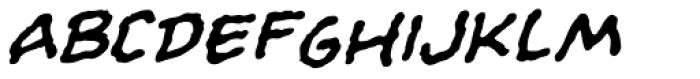 Evil Schemes Italic Font UPPERCASE