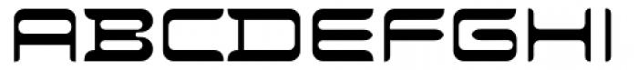 Evolution Normal Font UPPERCASE